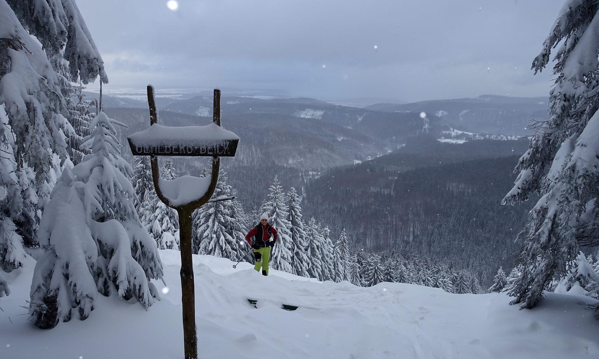 Schneekopf Skitour Januar 17