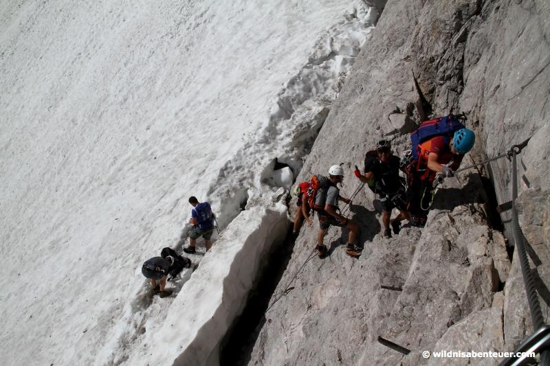 Klettersteig Zugspitze Höllental : Durch das höllental auf die zugspitze u2013 wildnisabenteuer