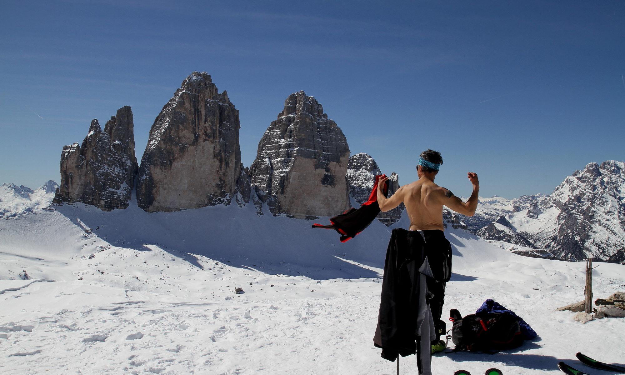 Skitour Sextener Stein